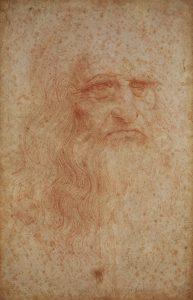 2 autoritratto Leonardo Torino