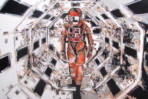 Andrea Gnocchi 2001 A SPACE ODYSSEY -KUBRICK (100×150)