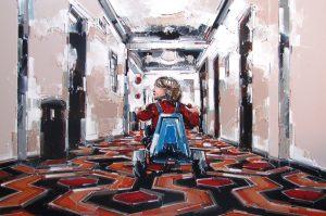 Andrea Gnocchi SHINING -KUBRICK (100×150)