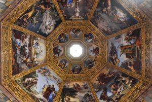 Cappella dei Principi dipinta dal Benvenuti. Ph Francesco Nocito