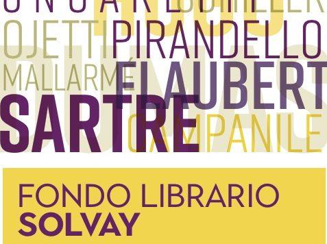 Fondo Librario_Donazione Solvay