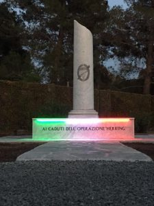 Monumento ai caduti operazione Herring