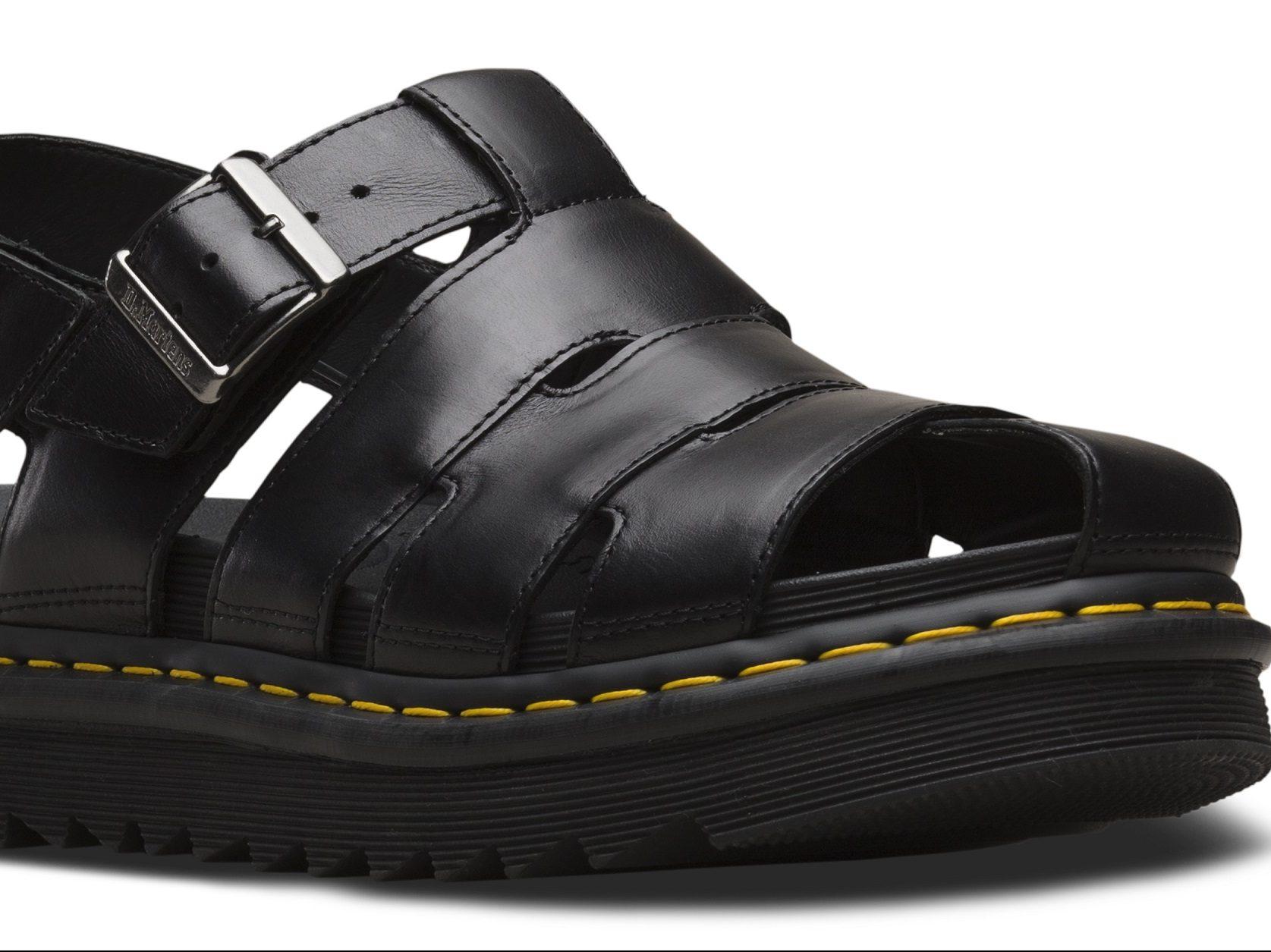 PITTI UOMO 2. I nuovi sandali Dr. Martens nella