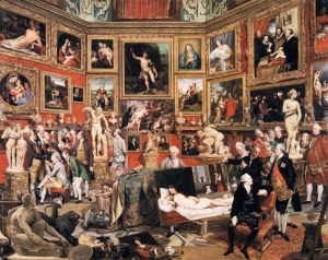 Johann Zoffany – The Tribuna of the Uffizi
