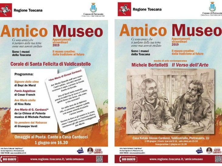 Locandina Amico Museo ultimo
