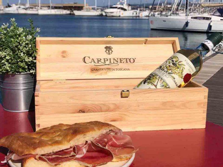 DOGAJOLO Banco del Vino CARPINETO- Merenda sul mare -2