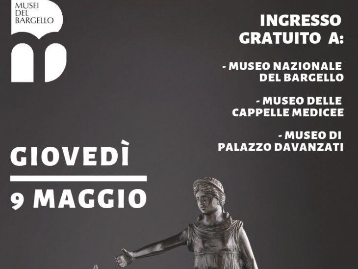 GIOVEDì 9 maggio ai Musei Bargello
