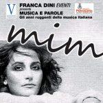 Locandina serara Mia Martini
