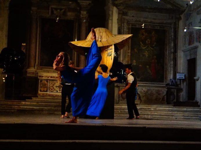 Tamara Fragale in Sant'Agostino