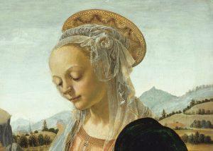 Verrocchio Madonna col Bambino2