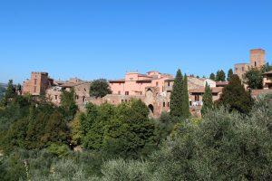 02) Certaldo Alto – panoramica con Casa Boccaccio – RIDOTTA