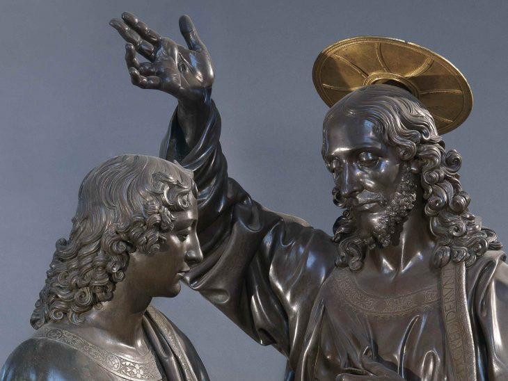 Andrea del Verrocchio, Incredulità di San Tommaso, Firenze, Chiesa e Museo di Orsanmichele – Foto Claudio Giusti