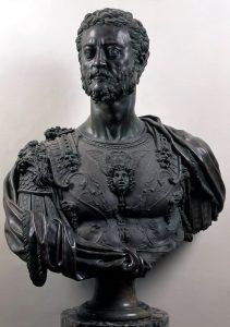 Cosimo ritratto da Benvenuto Cellini (Museo Nazionale del Bargello)