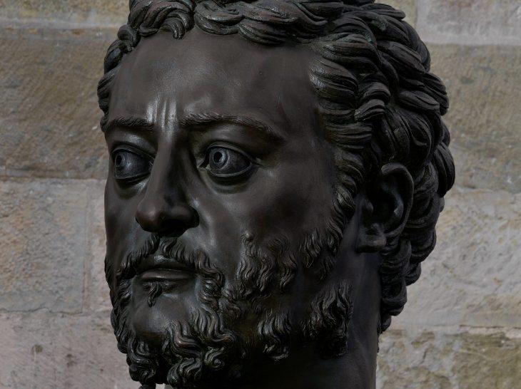 Cosimo ritratto da Benvenuto Cellini (Museo Nazionale del Bargello). Particolare
