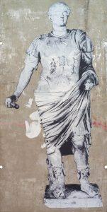 Figure 2013, tecnica mista su legno, cm 267×133