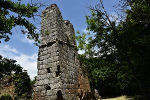 Vitozza torre medievale- Foto Tiziano Coli. Sopra il titolo: colombari