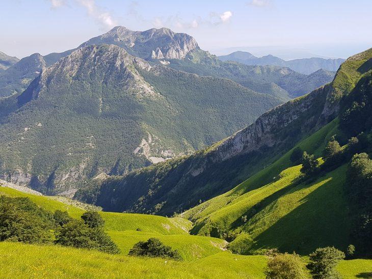 Alpi Apuane scorcio