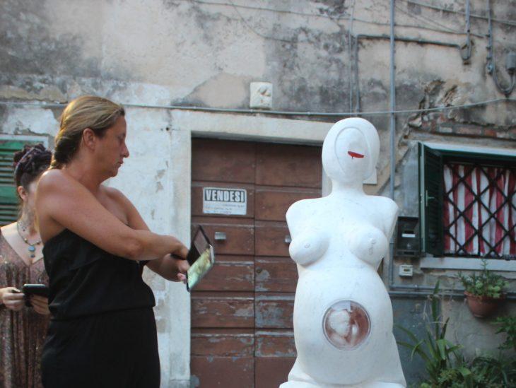 Foto opera Aborto Michele Monfroni