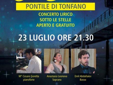 Locandina Note Estate Tonfano