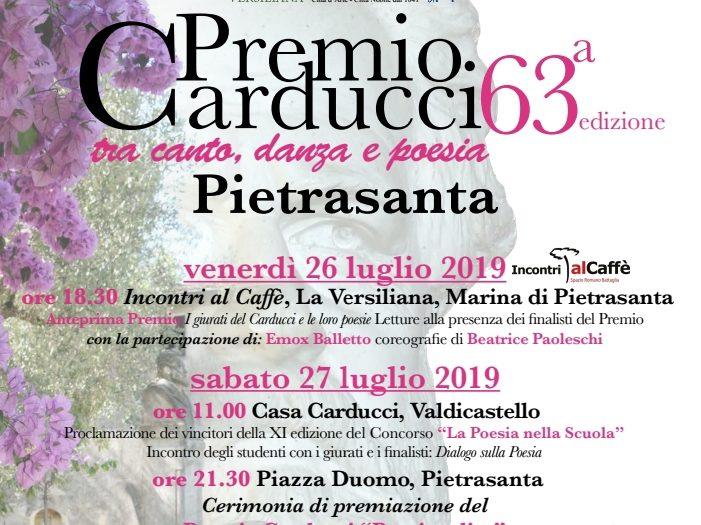 Locandina Premio Carducci