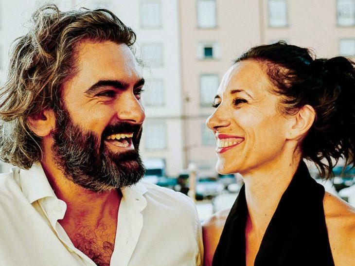foto santomauro e Alessia Cespuglio