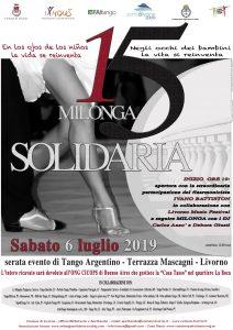 milonga solidaria locandina