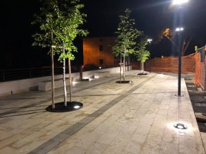 nuova piazza Valpiana
