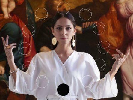 Foto Giulia Mutti in concerto Ostras