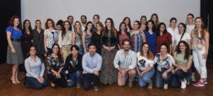 02 I partecipanti al Mascagni Opera Studio con Donata D_Annunzio Lombardi al Goldoni 28Sett2019