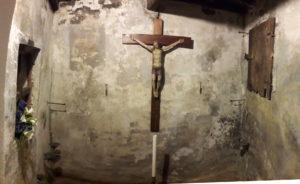 BEATA GIULIA – cella della beata dentro la chiesa dei Santi Jacopo e Filippo