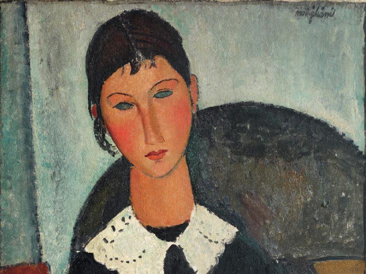 Elvira-con-colletto-bianco-1918-Amedeo-Modigliani