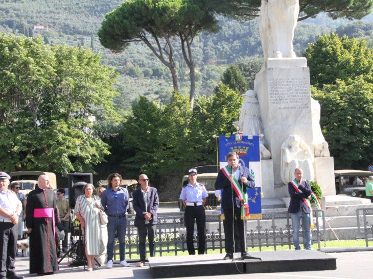 Foto cerimonia Liberazione Pietrasanta 2019