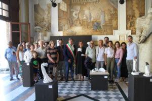 Foto mostra Francigena gruppo