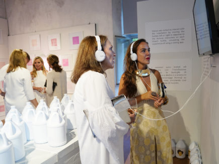 """New York Artist Rachel Lee Hovnanian's Museum Opening Of """"Open Secrets"""" At Palazzo Mediceo In Seravezza, Italy"""