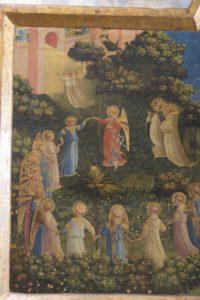 2a_Beato Angelico, Giudizio Universale, particolare prima del restauro
