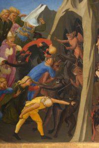 3b_Beato Angelico, Giudizio Universale, particolare dopo il restauro