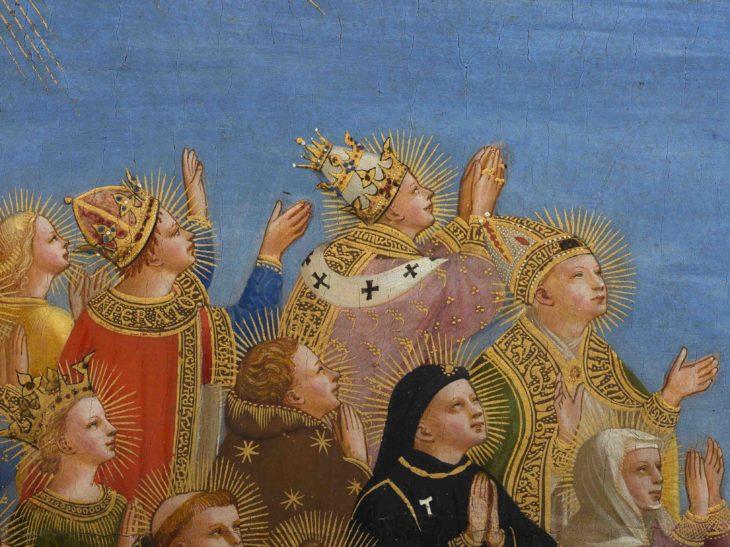 6_Beato Angelico, Giudizio Universale, particolare dopo il restauro