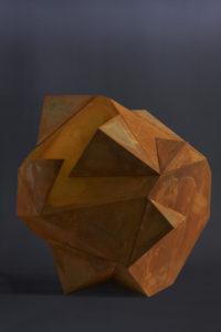 Ciubo – scultura in acciaio Cavenago