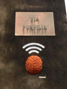 L'installazione degli Urban Solid in via Pompilia