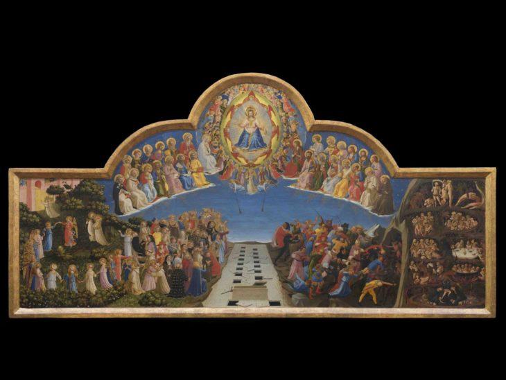 1b_Beato Angelico, Giudizio Universale, dopo il restauro