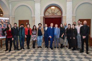Il cast de Le nozze di Figaro al Teatro Goldoni_foto Bizzi