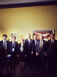 Incontro con viceministra della cultura della Federazione Russa Olga Golodets