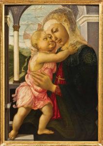 madonna botticelli ©Gabinetto fotografico delle Gallerie degli Uffizi
