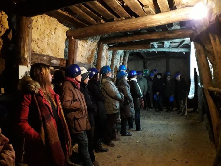 museo miniera Massa Marittima con pubblico