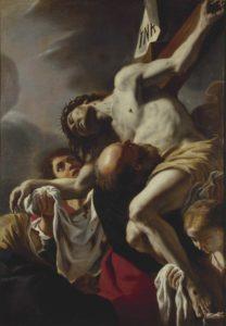 14.Coll De Vito_Mattia Preti Deposizione di Cristo dalla croce