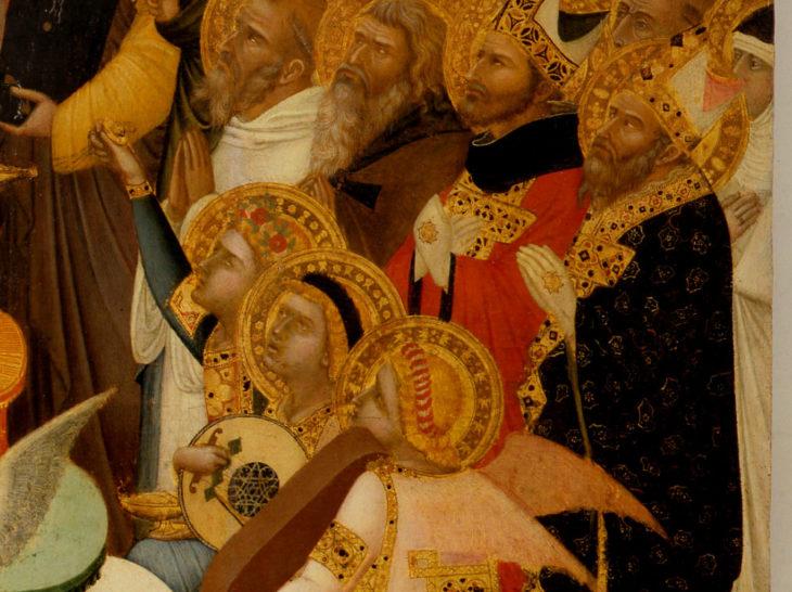 19. Maestà di Lorenzetti -Massa Marittima dettaglio