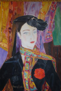 Danièle Lorenzi Scotto, Geneviève d'Anjouoliosutela75X65