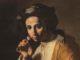 5. Coll De Vito_Maestro dell'annuncio ai pastori (Juan Do`-) Giovane che odora una rosa