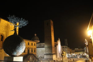 Foto panoramica centro storico Natale