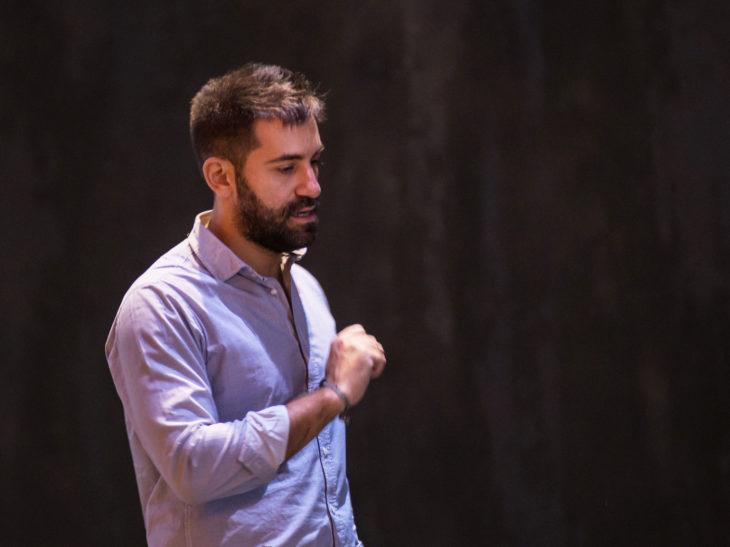 Il regista Roberto Catalano